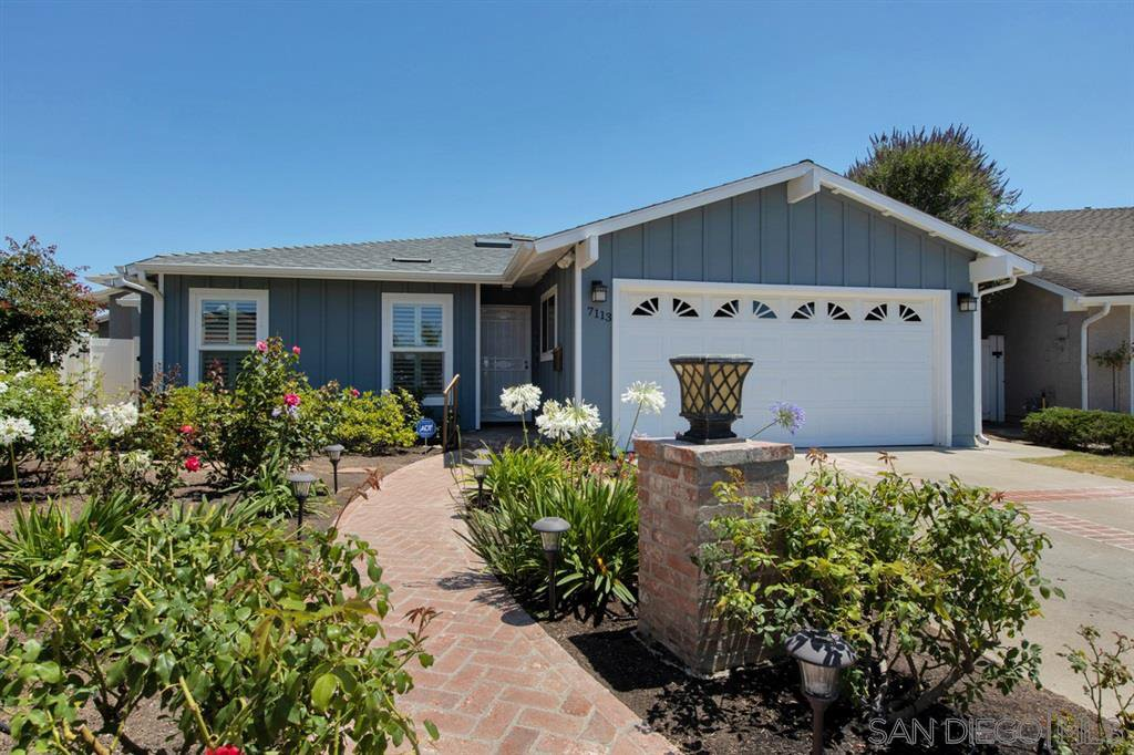 Main Photo: UNIVERSITY CITY House for sale : 4 bedrooms : 7113 Cather Court in San Diego