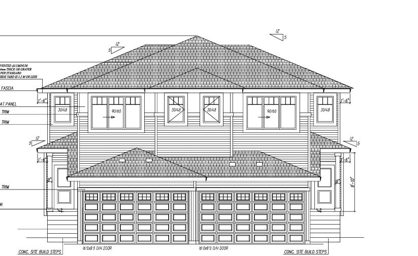 Main Photo:  in Edmonton: Zone 30 House Half Duplex for sale : MLS®# E4220595