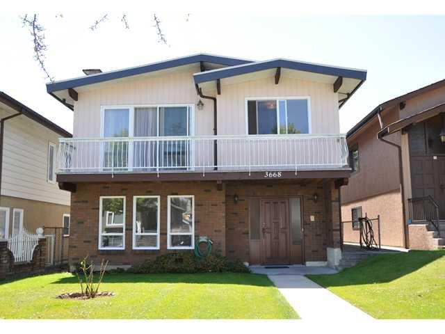 Main Photo: 3668 E 26TH AV in Vancouver: Renfrew Heights House for sale (Vancouver East)  : MLS®# V1017213