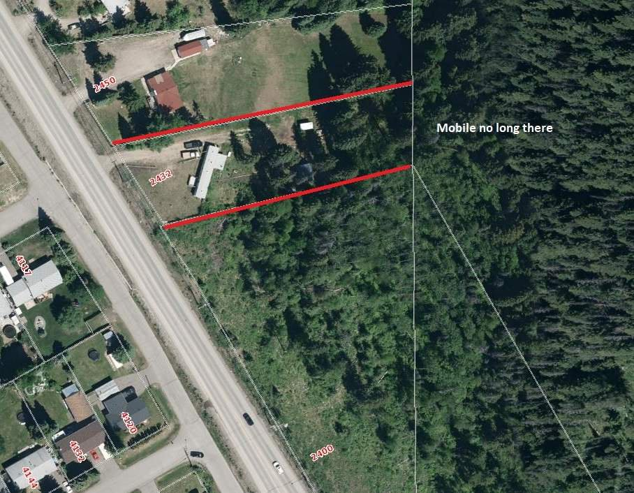 Main Photo: 2432 N NECHAKO ROAD in : Edgewood Terrace Land for sale : MLS®# R2273437