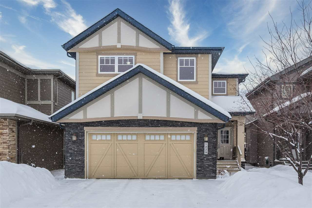 Main Photo: 1229 AINSLIE Way NW in Edmonton: Zone 56 House for sale : MLS®# E4184920
