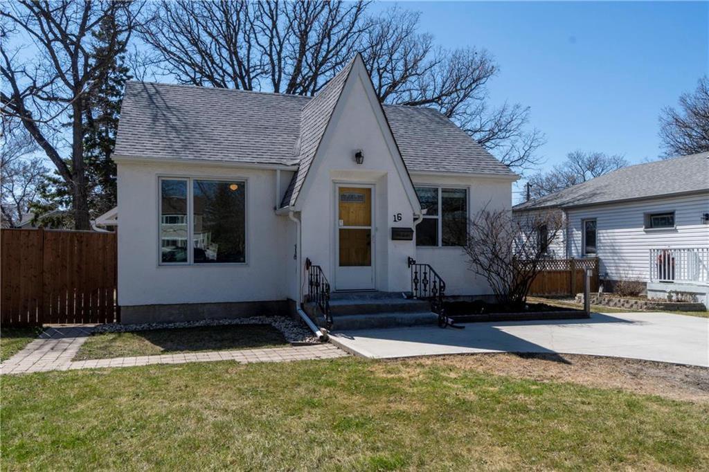 Main Photo: 16 St Thomas Road in Winnipeg: St Vital Residential for sale (2D)  : MLS®# 202009803