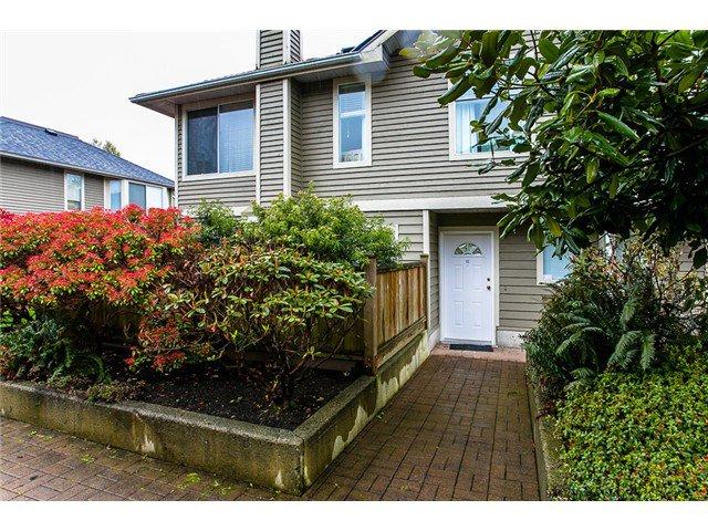 "Main Photo: 12 849 TOBRUCK Avenue in North Vancouver: Hamilton Townhouse for sale in ""Garden Terrace"" : MLS®# V1002669"