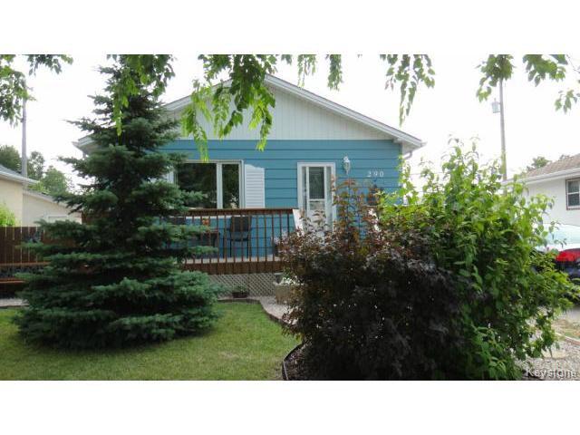 Main Photo: 290 Sutton Avenue in WINNIPEG: North Kildonan Residential for sale (North East Winnipeg)  : MLS®# 1420374