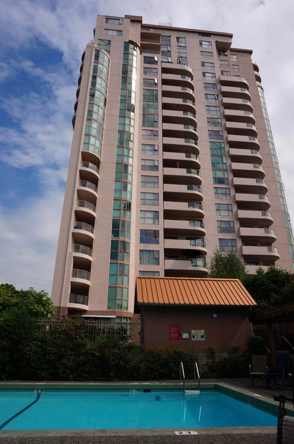 Main Photo: # 1901 612 FIFTH AVE. in New Westminster: Uptown NW Condo for sale : MLS®# V1081231