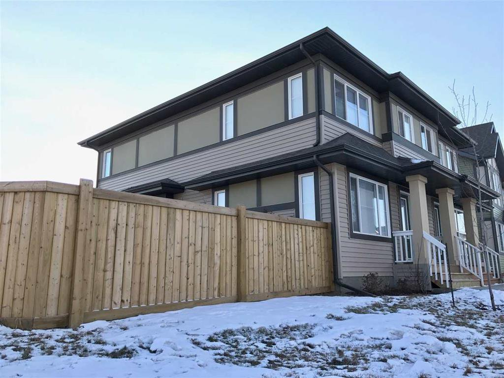 Main Photo: 3103 Paisley Road SW in Edmonton: House Half Duplex for sale : MLS®# E4052857