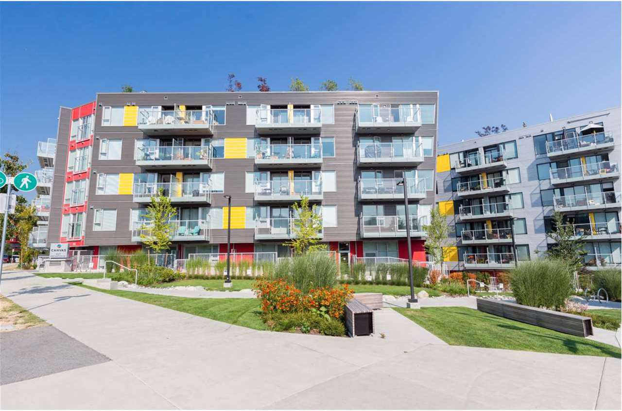 "Main Photo: 307 417 GREAT NORTHERN Way in Vancouver: Strathcona Condo for sale in ""Canvas"" (Vancouver East)  : MLS®# R2503206"
