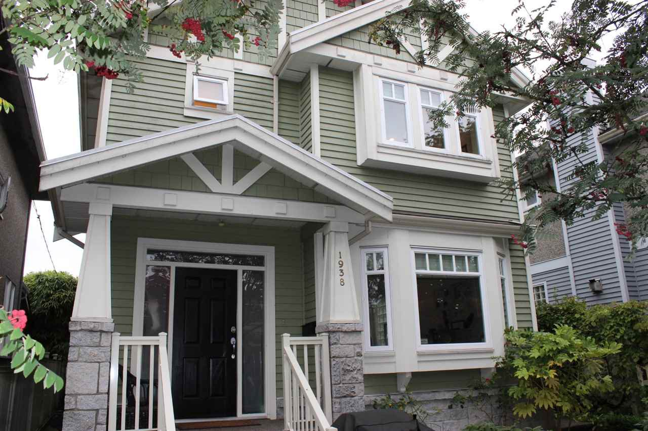 Main Photo: 1938 ADANAC STREET in : Hastings 1/2 Duplex for sale : MLS®# R2331927