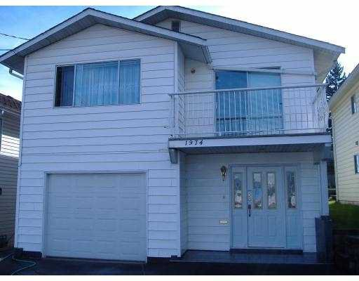 Main Photo: 1974 MCLEAN AV in Port Coquiltam: Mary Hill House for sale (Port Coquitlam)  : MLS®# V575821