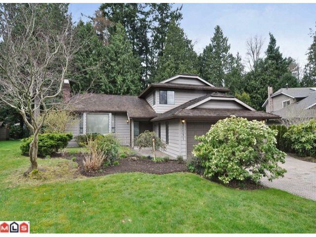 Main Photo: 2091 126TH Street in Surrey: Crescent Bch Ocean Pk. House for sale (South Surrey White Rock)  : MLS®# F1207412