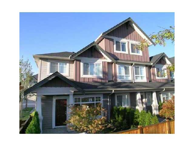 Main Photo: 12 11393 Steveston Highway in Richmond: Townhouse for sale : MLS®# v1021923