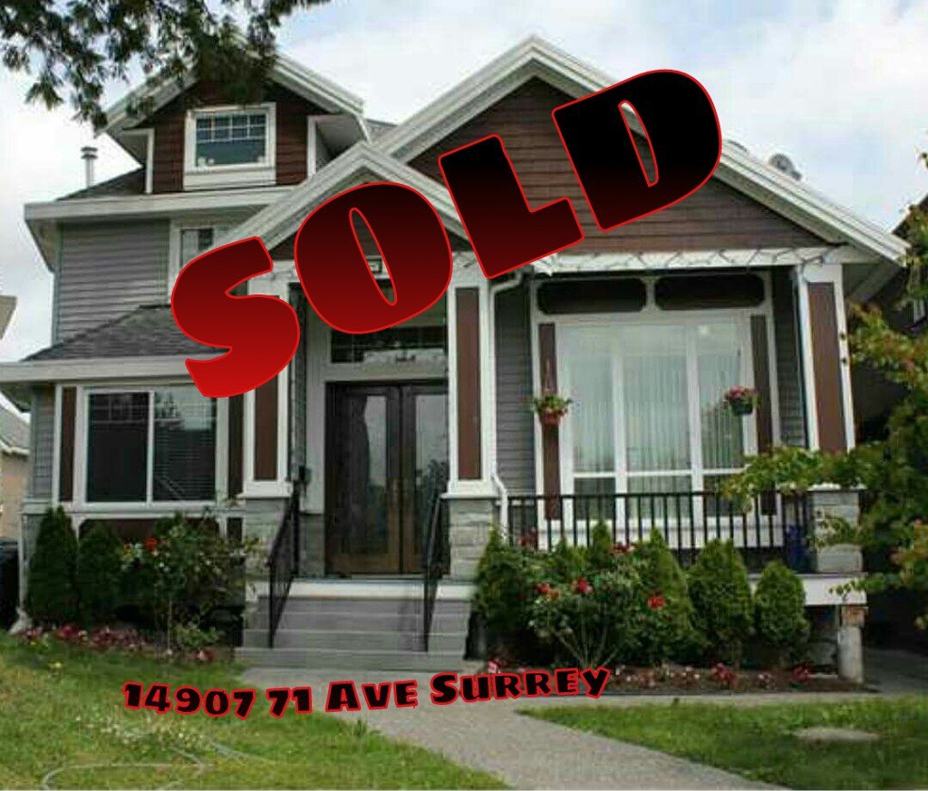 Main Photo: 14907 71ave in Surrey: House for sale : MLS®# f1430094