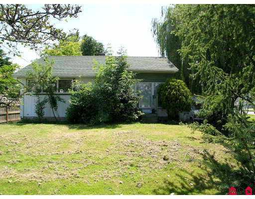 "Main Photo: 45470 BERNARD AV in Chilliwack: Chilliwack  W Young-Well House for sale in ""SOUTHGATE"" : MLS®# H2502140"