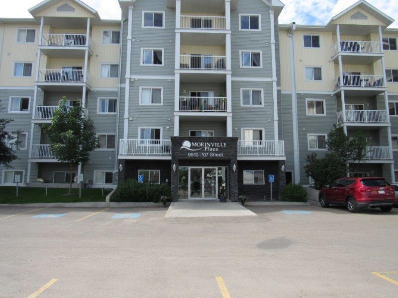 Main Photo: 321, 9910 - 107 Street in Morinville: Condominium for rent
