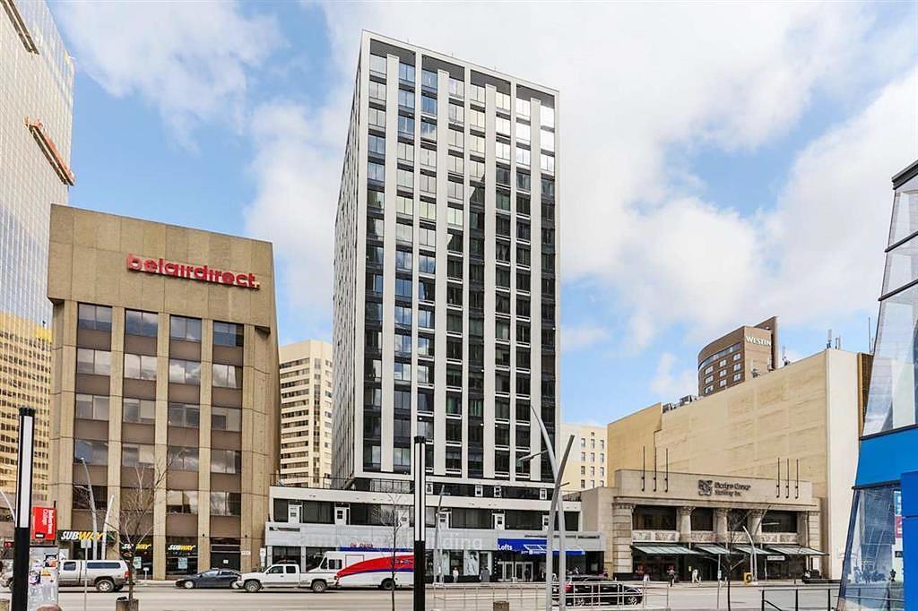 Main Photo: 812 10024 JASPER Avenue in Edmonton: Zone 12 Condo for sale : MLS®# E4190327