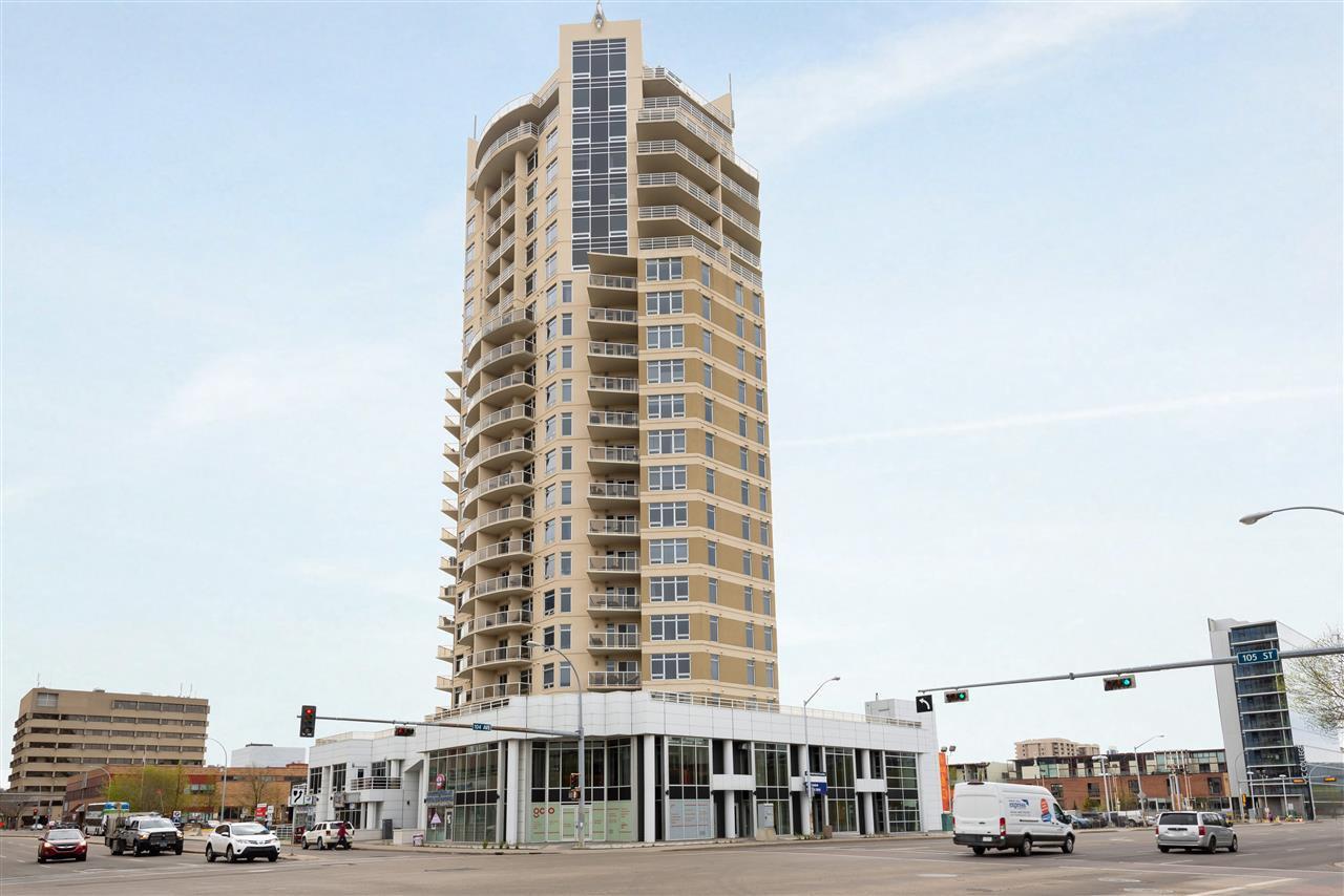 Main Photo: 902 10388 105 Street in Edmonton: Zone 12 Condo for sale : MLS®# E4198351