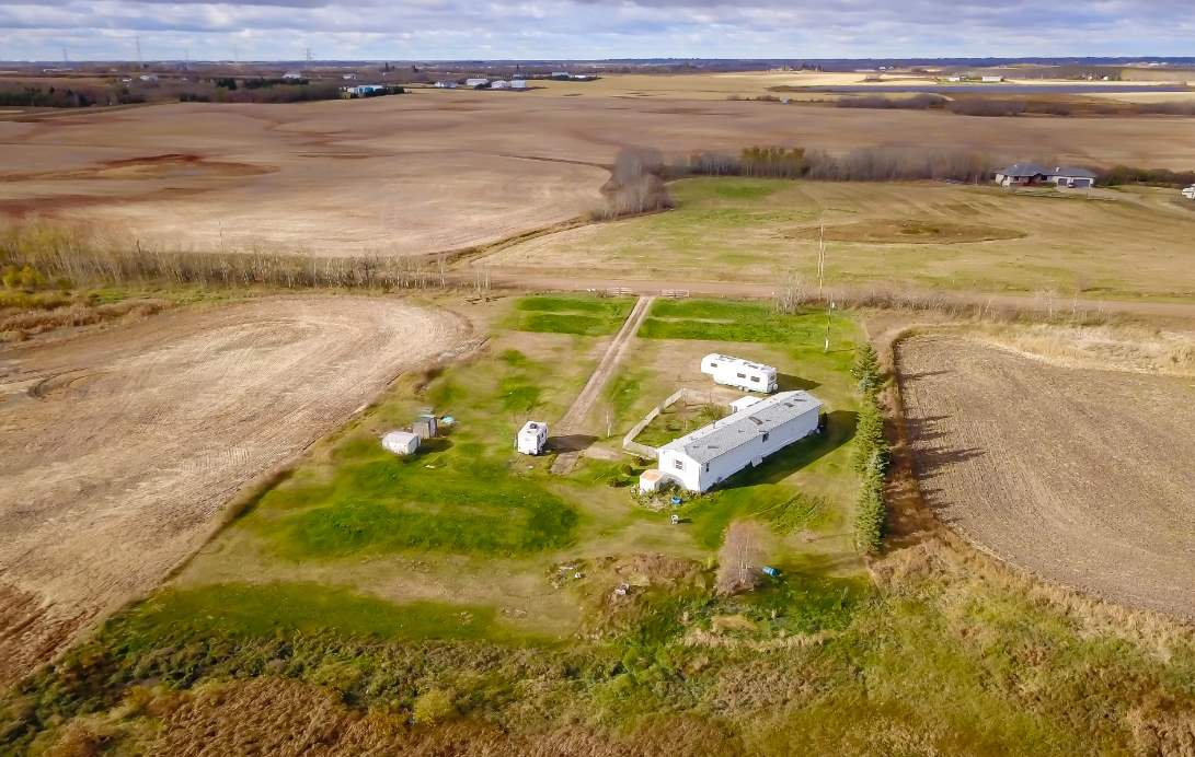 Main Photo: 55409 RGE RD 231: Rural Sturgeon County Manufactured Home for sale : MLS®# E4218123