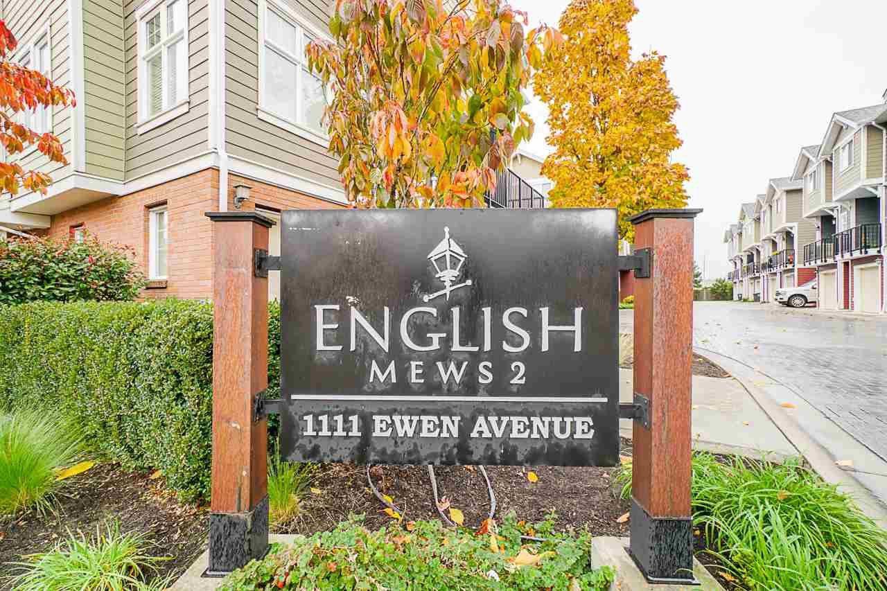 """Main Photo: 27 1111 EWEN AVENUE Avenue in New Westminster: Queensborough Townhouse for sale in """"ENGLISH MEWS"""" : MLS®# R2517204"""