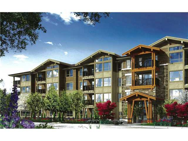 """Main Photo: 415 3110 DAYANEE SPRINGS Boulevard in Coquitlam: Westwood Plateau Condo for sale in """"LEDGEVIEW"""" : MLS®# V963345"""