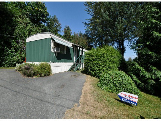 Main Photo: 20 34519 LOUGHEED Highway in Mission: Hatzic Manufactured Home for sale : MLS®# F1420036