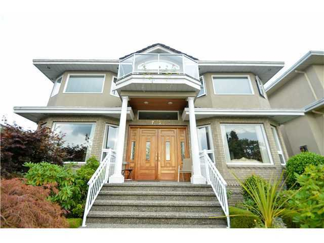 Main Photo: 7292 BARNET RD in BURNABY: Westridge BN House for sale (Burnaby North)  : MLS®# V1104455