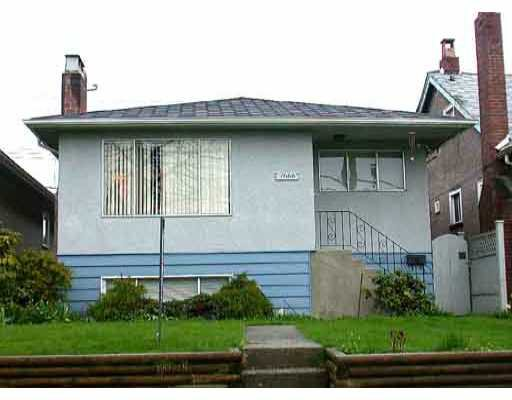 Main Photo: 7666 Ontario Street in Vancouver: House for sale (Vancouver East)  : MLS®# V284845