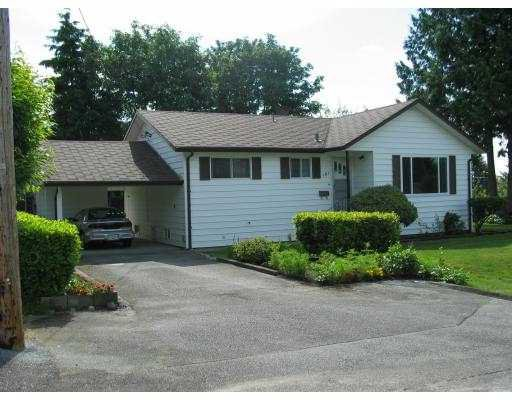 Main Photo: 101 FINNIGAN ST in Coquitlam: Cape Horn House for sale : MLS®# V545660