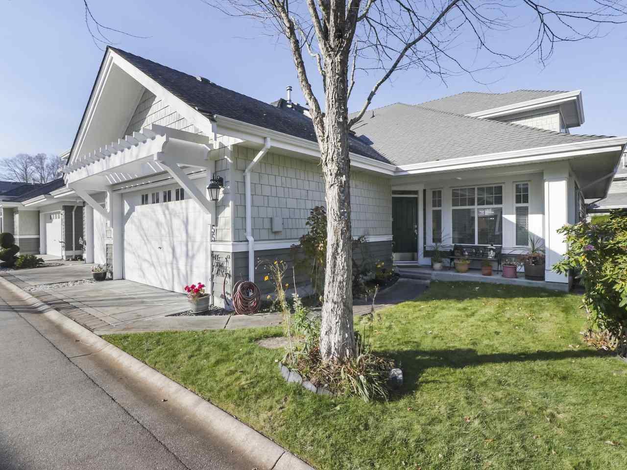 "Main Photo: 55 5900 FERRY Road in Delta: Neilsen Grove Townhouse for sale in ""CHESAPEAKE LANDING"" (Ladner)  : MLS®# R2417240"