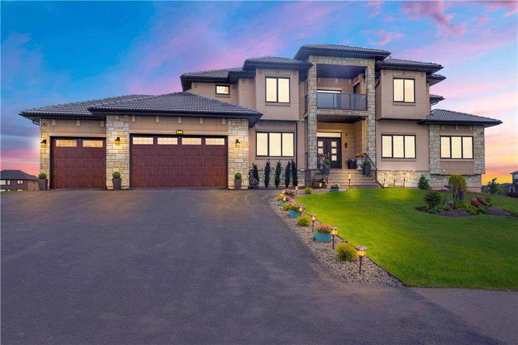 Custom built luxurious home on a .83 acre corner lot designed and crafted with incredible attention to details.