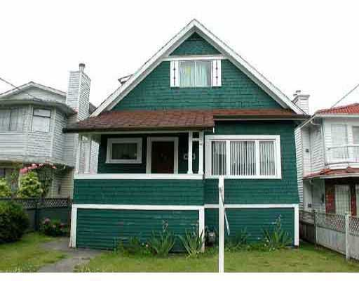 Main Photo: 3969 ALICE ST in Vancouver: Victoria VE House for sale (Vancouver East)  : MLS®# V606130