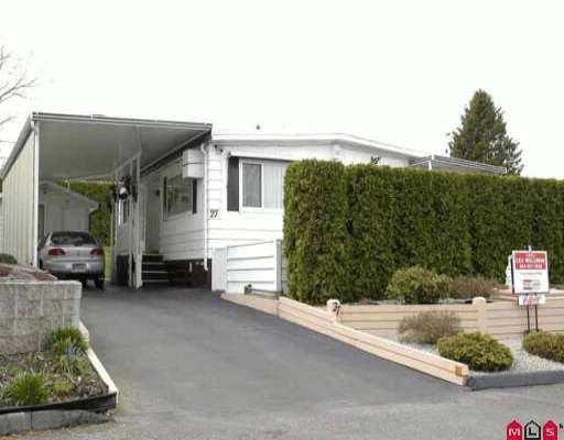 "Main Photo: 27 13650 80 AV in Surrey: Bear Creek Green Timbers Manufactured Home for sale in ""LEESIDE"" : MLS®# F2605671"
