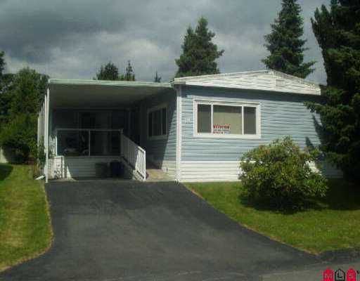 """Main Photo: 19 7790 KING GEORGE HY in Surrey: West Newton Manufactured Home for sale in """"Crispen Bays"""" : MLS®# F2500146"""