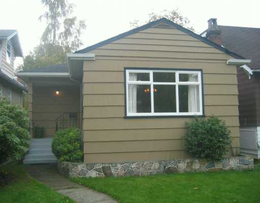 Main Photo: 818 W 19TH Ave in Vancouver: Cambie House for sale (Vancouver West)  : MLS®# V619139