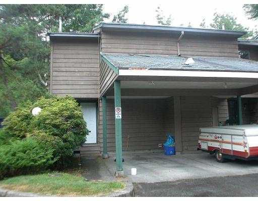 """Main Photo: 1 1960 RUFUS DR in North Vancouver: Westlynn Townhouse for sale in """"MOUNTAIN ESTATES"""" : MLS®# V554054"""