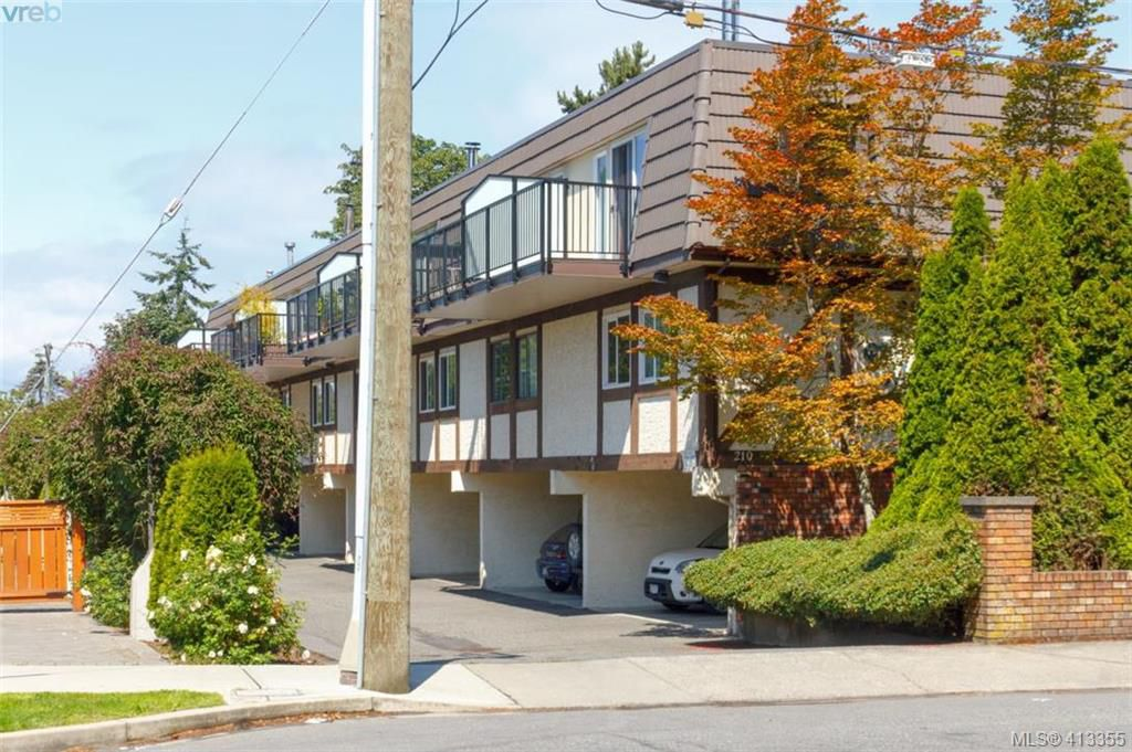Main Photo: 4 210 Douglas Street in VICTORIA: Vi James Bay Row/Townhouse for sale (Victoria)  : MLS®# 413355
