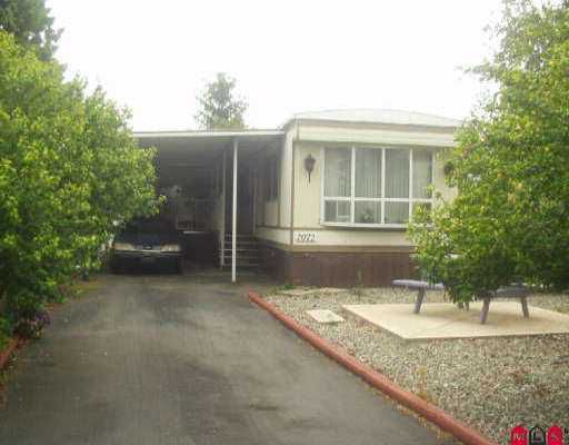 """Main Photo: 2072 CUMBRIA DR in White Rock: King George Corridor Manufactured Home for sale in """"CRANLEY PLACE"""" (South Surrey White Rock)  : MLS®# F2515442"""