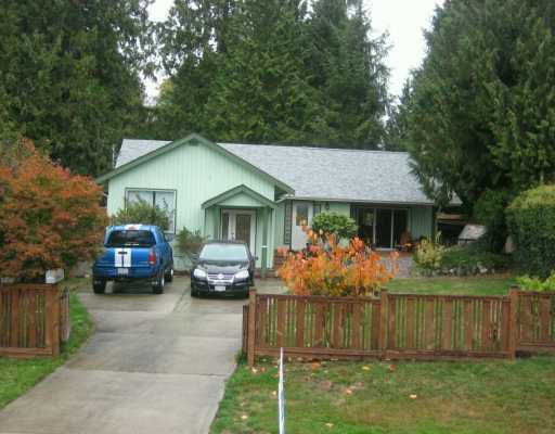 Main Photo: 6460 NORVAN Road in Sechelt: Sechelt District House for sale (Sunshine Coast)  : MLS®# V618606