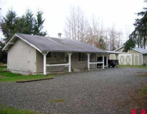 Main Photo: 25349 60TH AV in Langley: Salmon River House for sale : MLS®# F2604599