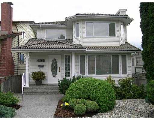 Main Photo: 4467 TRIUMPH ST in Burnaby: Vancouver Heights House for sale (Burnaby North)  : MLS®# V560819