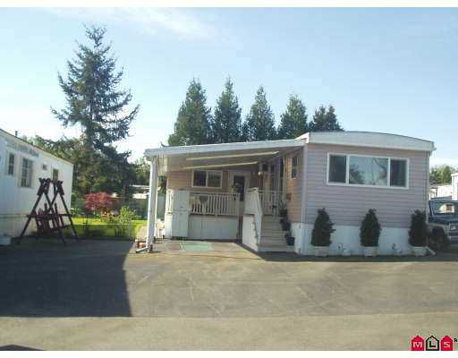 """Main Photo: 63 8266 KING GEORGE HY in Surrey: Bear Creek Green Timbers Manufactured Home for sale in """"PLAZA"""" : MLS®# F2609321"""