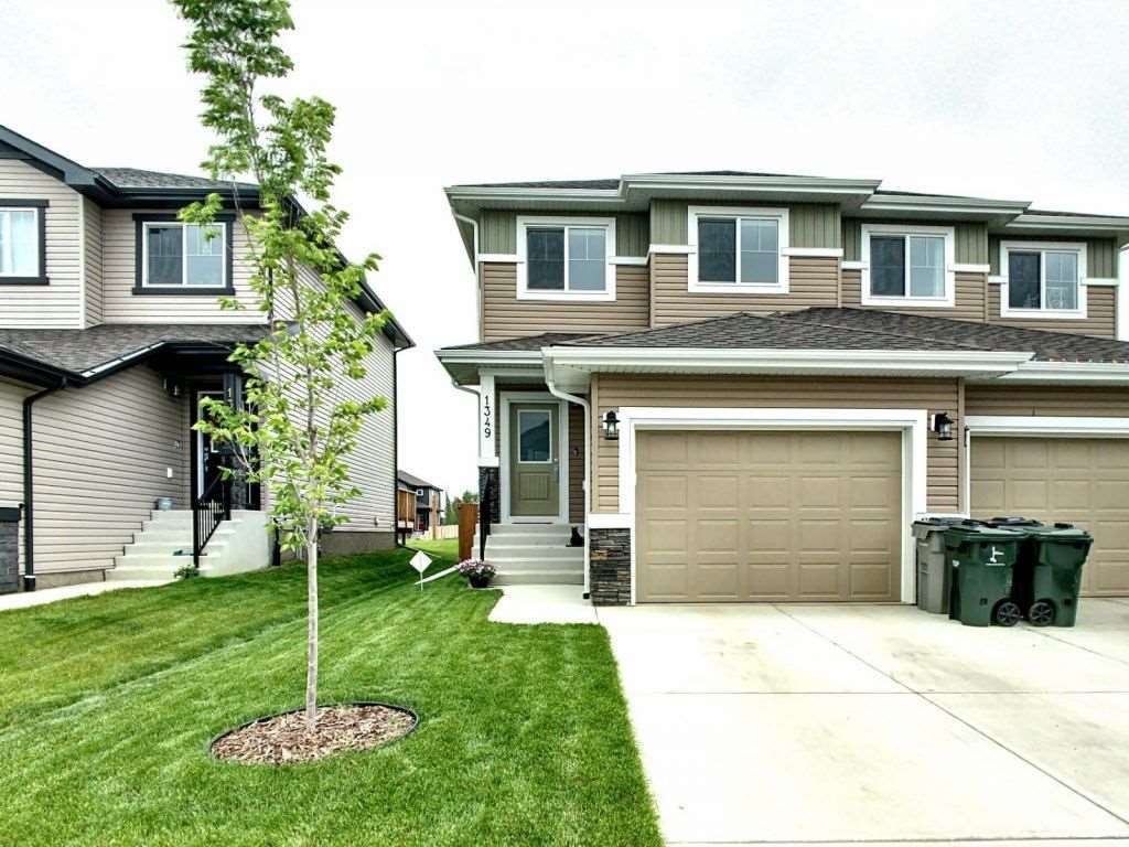 Main Photo: 1349 South Creek Link: Stony Plain House Half Duplex for sale : MLS®# E4165474