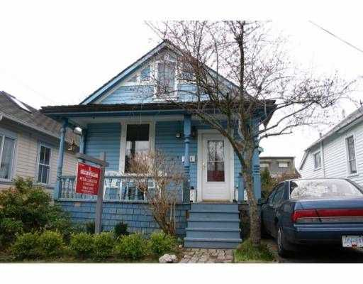 Main Photo: 318 ARBUTUS ST in New Westminster: Queens Park House for sale : MLS®# V577299