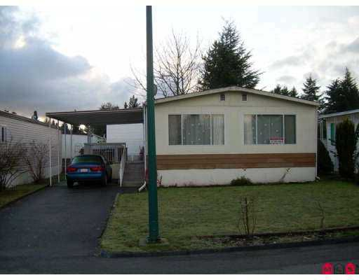 "Main Photo: 7850 KING GEORGE Highway in Surrey: Bridgeview Manufactured Home for sale in ""BEAR CREEK GLEN"" (North Surrey)  : MLS®# F2700298"