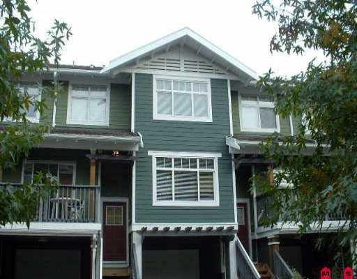 "Main Photo: 49 15233 34 AV in Surrey: Morgan Creek Townhouse for sale in ""SUNDANCE"" (South Surrey White Rock)  : MLS®# F2522455"