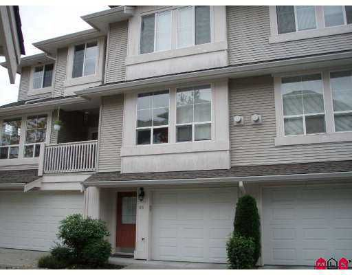 "Main Photo: 66 14952 58TH Avenue in Surrey: Sullivan Station Townhouse for sale in ""Highbrae"" : MLS®# F2725539"