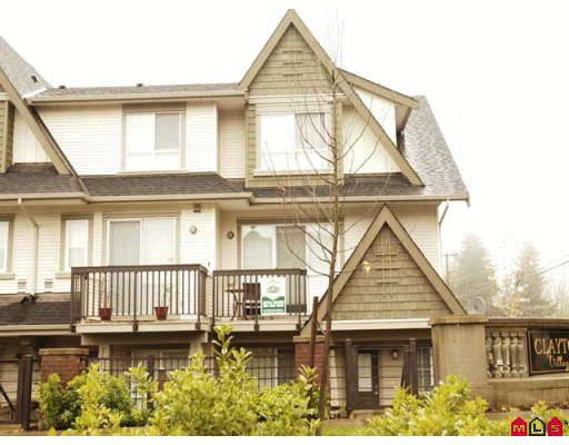 """Main Photo: 13 7155 189TH Street in Surrey: Clayton Townhouse for sale in """"BACARA"""" (Cloverdale)  : MLS®# F2727422"""