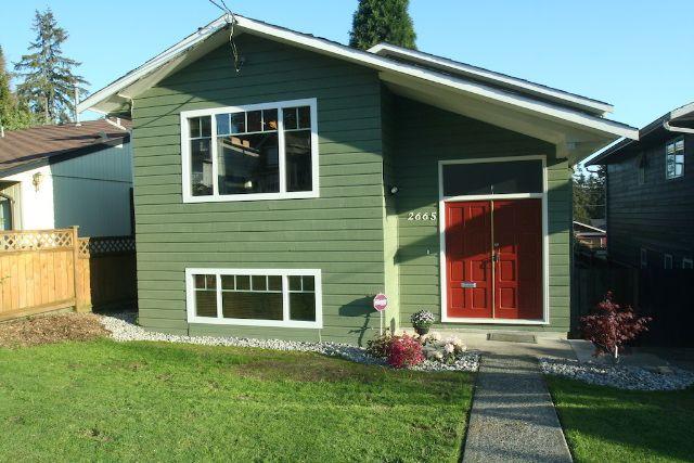 Main Photo: 2665 Violet Street in North Vancouver: Blueridge NV House for sale : MLS®# V768163