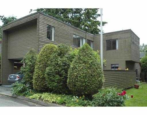Main Photo: 9 3397 HASTINGS Street in Port_Coquitlam: Woodland Acres PQ Townhouse for sale (Port Coquitlam)  : MLS®# V653492