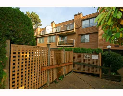 "Main Photo: 102 812 MILTON Street in New Westminster: Uptown NW Condo for sale in ""HAWTHORN PLACE"" : MLS®# V794410"