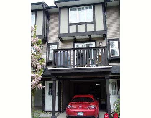 "Main Photo: 35 20176 68TH Avenue in Langley: Willoughby Heights Townhouse for sale in ""STEEPLECHASE"" : MLS®# F2711620"